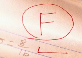 fail grade
